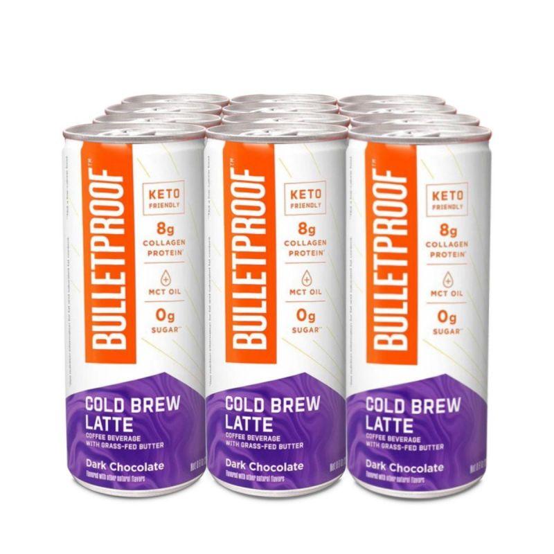 Bulletproof – Cold Brew Latte Dark Chocolate 12pack