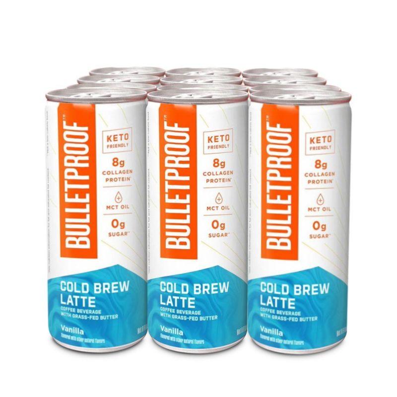 Bulletproof - Cold Brew Latte Vanilla 12pack