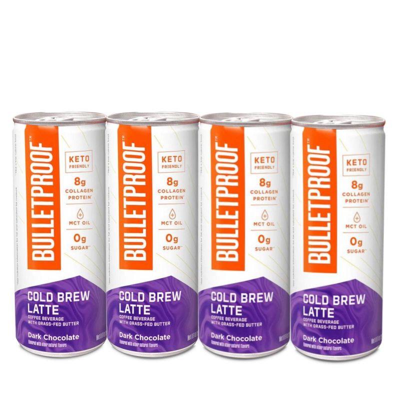 Bulletproof – Cold Brew Latte Dark Chocolate 4pack
