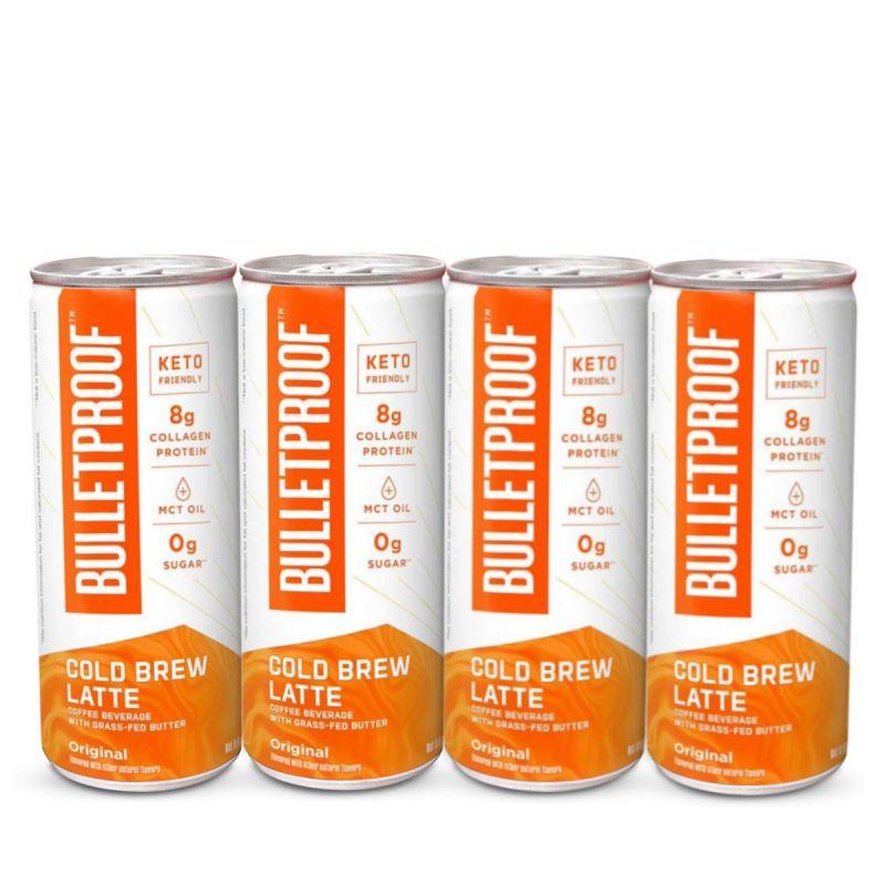 Bulletproof – Cold Brew Latte 4pack