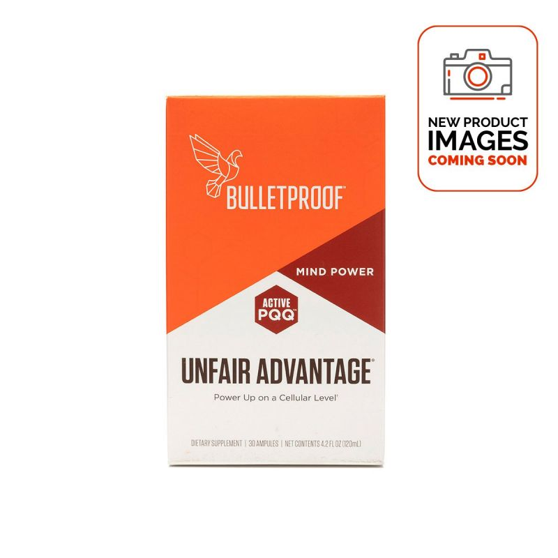 Bulletproof Unfair Advantage - Front