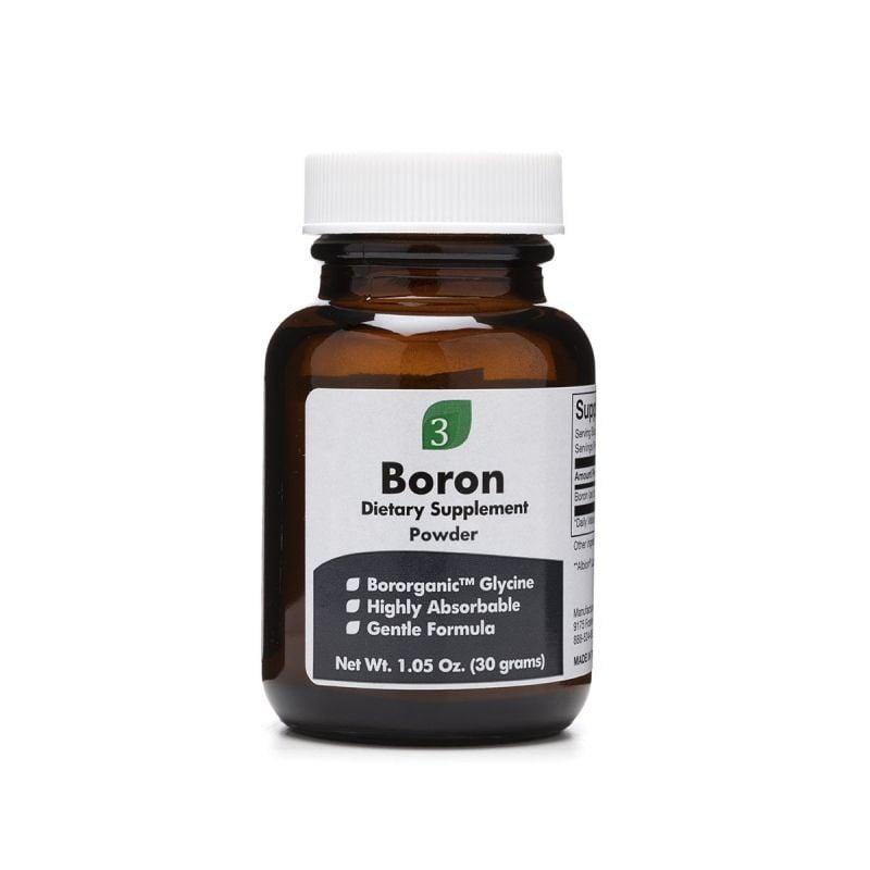 Organic3 Boron 30g - Front