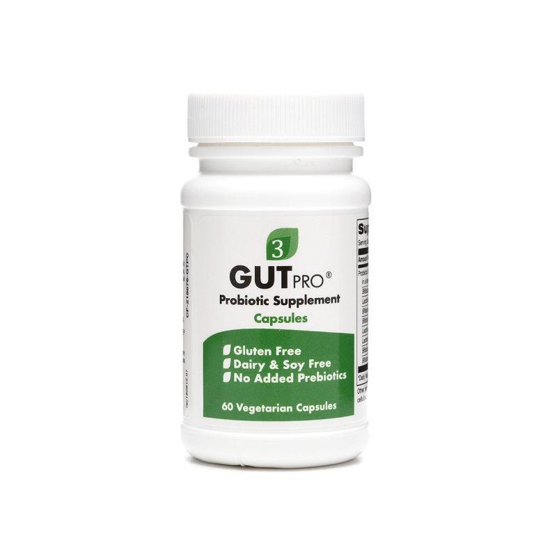 Organic3 GutPro Capsules 60's - Front