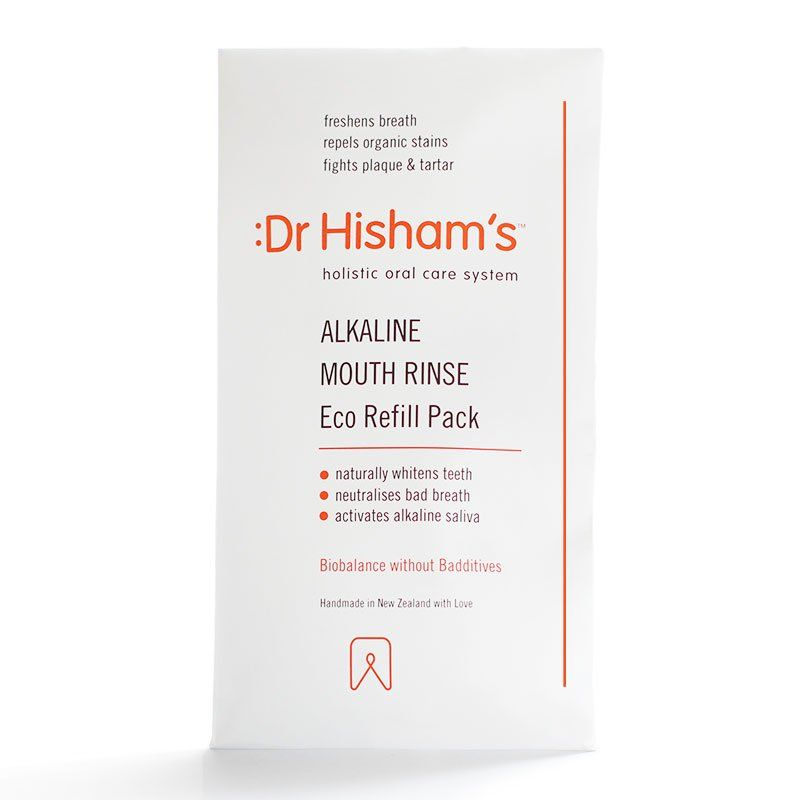 Dr Hisham's - Alkaline Mouth Rinse Eco Refill Pack