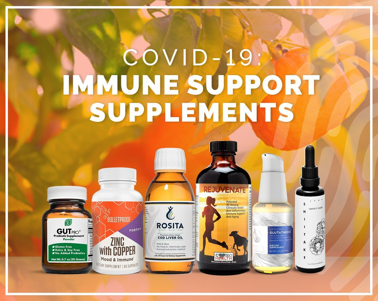 COVID-19 Immune Support Supplements